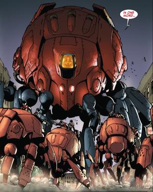 Giant Spider-Bots