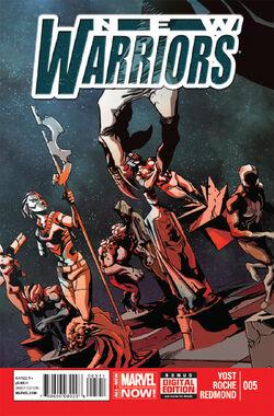 New Warriors Vo. 5 -5