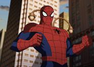 Flash (Earth-TRN123) as Spider-Man