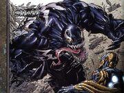 Venom attacking Jack Flag