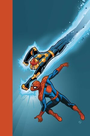 Marvel Universe Ultimate Spider-Man Vol. 1 -10