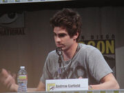 San Diego Comic-Con 2011 - Amazing Spider-Man panel - Andrew Garfield