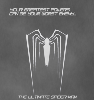 The ultimate spider man poster by ultimatespideyhero-d6icwk7