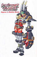 Book 2 - Aqune in Battle Mode