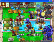 Plants Vs Zombies, 45 flags