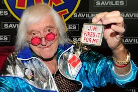 File:The real Jimmy Paedophile Saville. Go to Hell for what you are Saville.jpg
