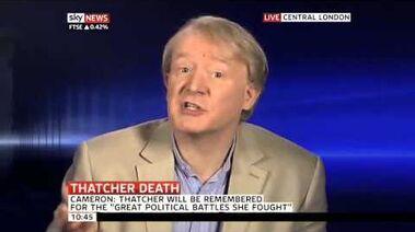 Spitting Image voice actor on Margaret Thatcher (09Apr13)-0