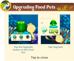 Tutorial§20 Upgrading Food Pots