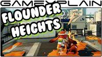Splatoon - Flounder Heights Map SNEAK PEEK (60fps Gameplay)