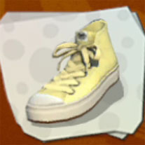 Shoes Cream Hi-Tops