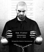 Sam Fisher mugshot