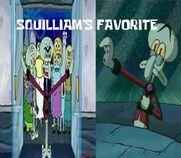 Squilliams favorite