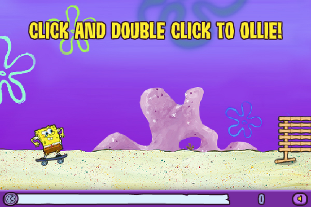 File:Skater Sponge Click and double click to ollie!.png