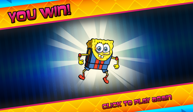 File:Bikini Bottom Brawlers SpongeBob in wrestling outfit you win.png