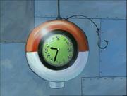 Rock Bottom Bus Station clock