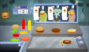 SpongeBob, You're Fired! (online game) - Krusty Krab job