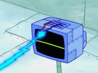SpongeBob SquarePants Karen the Computer Wire Laser