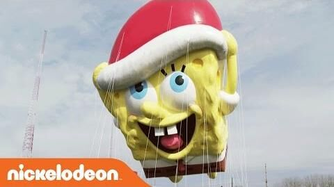 Thanksgiving SpongeBob SquarePants Balloon Video Nick