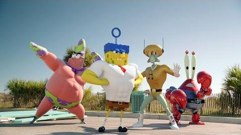 THE SPONGEBOB SQUAREPANTS MOVIE SPONGE OUT OF WATER Teaser Trailer International English