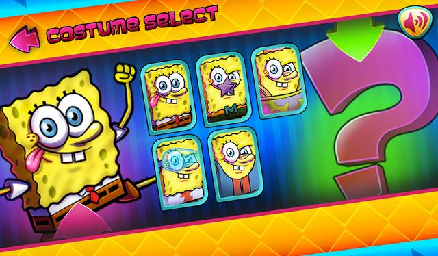 File:Bikini Bottom Brawlers SpongeBob choices.png
