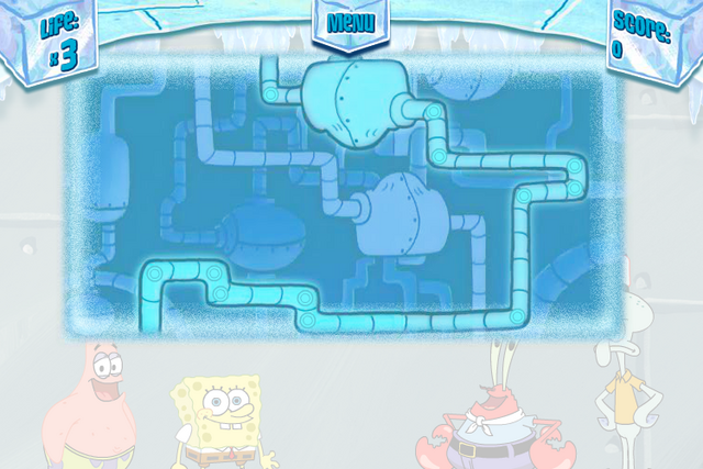 File:SpongeBob's Truth or Square (online game) - Map.png