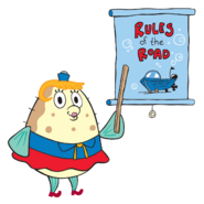 SpongeBob SquarePants Mrs. Puff Character Image Nickelodeon 1