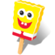 SpongeBob popsicle