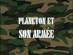 Plankton et son armée