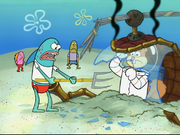 Sandy in SpongeBob SquarePants vs. The Big One-47