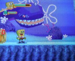 Giant Eel in Globs of Doom DS