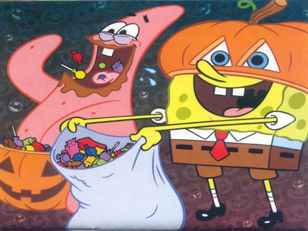 Image - Halloween SpongeBob and Patrick.jpg | Encyclopedia ...