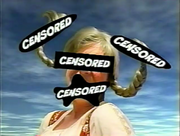 Subliminal Message Girl in YTV promo