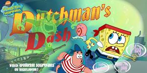 Spongebob Squarepants Dutchman's Dash Title Screen