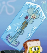 Frozen Squidward3