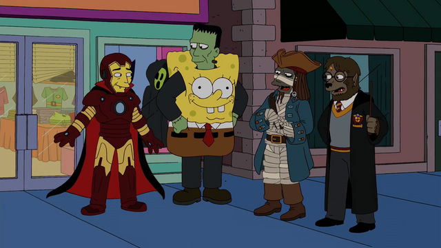 File:The Simpsons - Treehouse of Horror XX - Monsters dressed.png