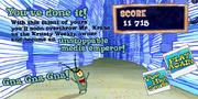 Plankton's Krusty Bottom You've done it!