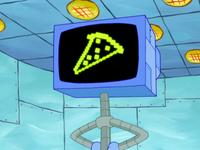 SpongeBob SquarePants Karen the Computer Pizza