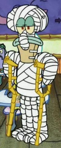 Bandaged Squidward4