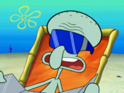 Squidward Tentacles in Sun Bleached-2