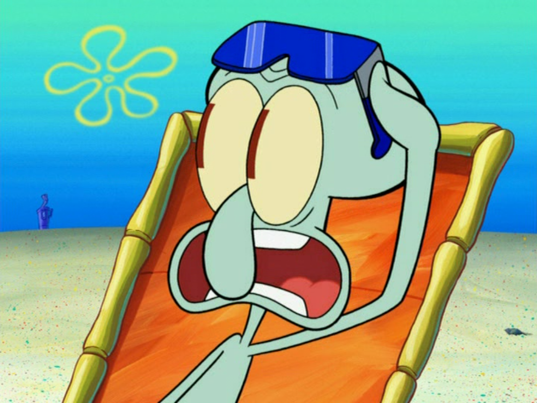 image squidward tentacles in sun bleached 4 png encyclopedia