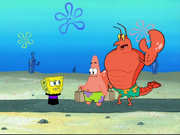 Larry the Lobster in You Don't Know Sponge-9