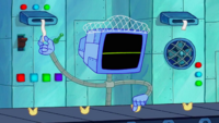 SpongeBob SquarePants Karen the Computer Hairnet-2