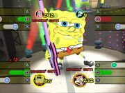 3D Spongebob & 1 Guitar (Lights, Camera, Pants)