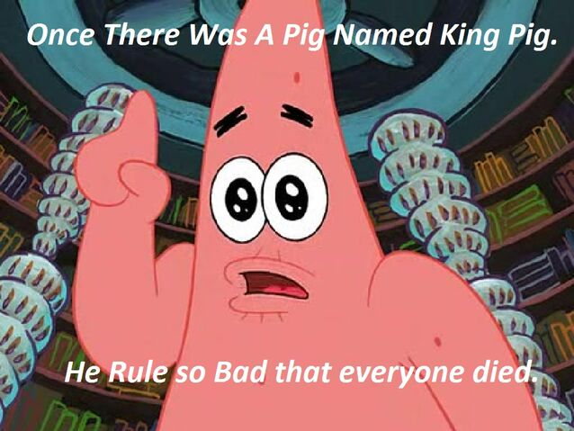 File:Patrick Meme On Pig.png.jpg