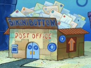 Bikini Bottom Post Office