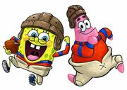 SpongeBob & Patrick Sport 7