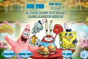 SpongeBob's Truth or Square (online game) - You win!