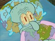 Squidward Trash House Surroundings 7