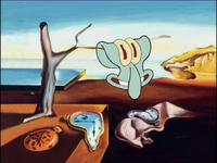 AS SquidwardPainting1