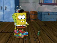 SpongeBob's Vibrating Shoes